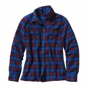 Patagonia Fjord Organic Cotton Flannel Button Down